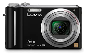 Panasonic Lumix DMC-ZS3 10 1 MP Digital Camera with 12x Wide Angle MEGA  Optical Image Stabilized Zoom and 3 inch LCD (Black)