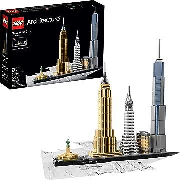 powerful New York City Skyline