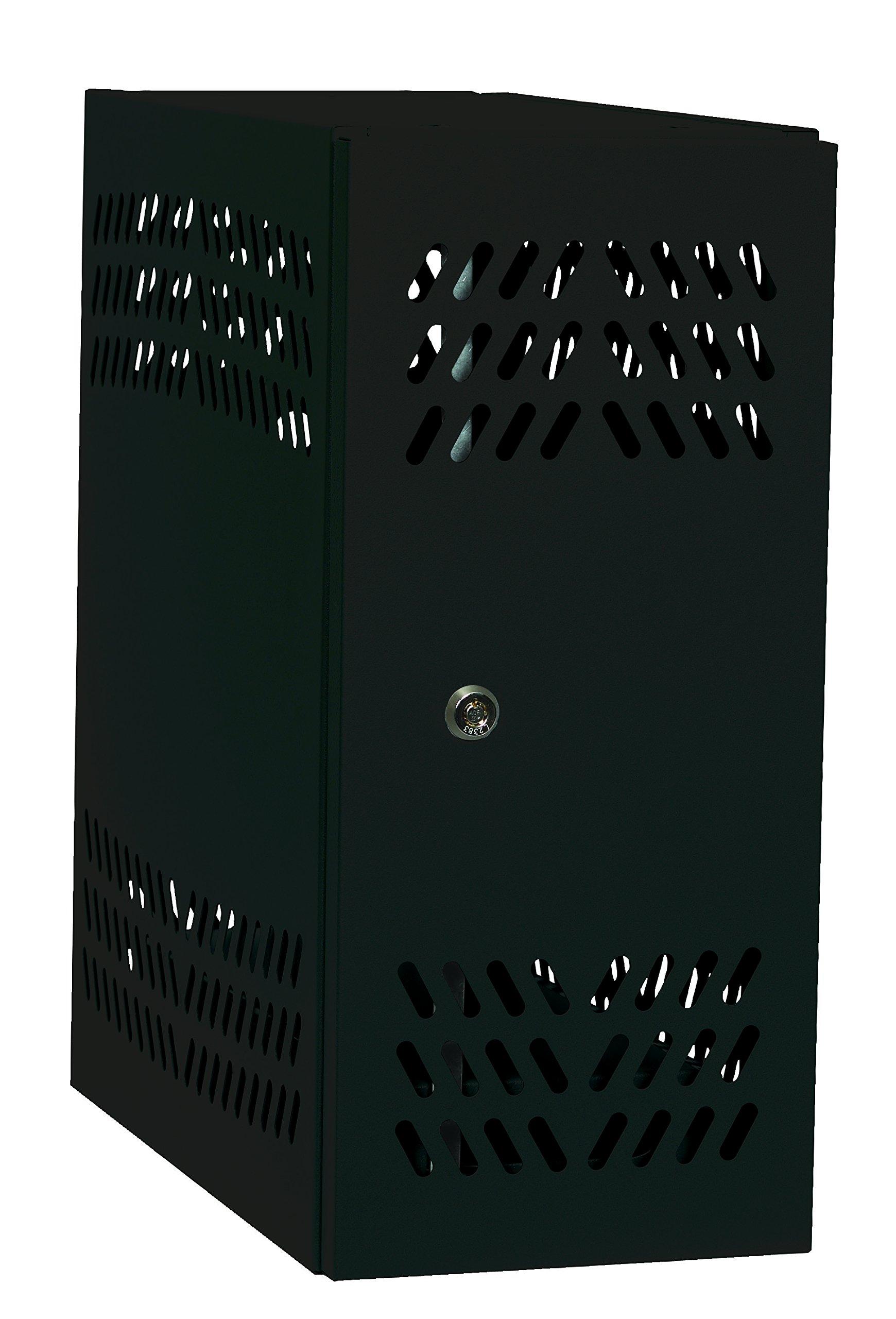 Datum Storage CPU2-T25 Intellerum CPU Locker, Large, Black