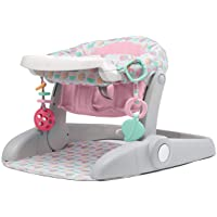 Summer Learn-to-Sit Stages 3-Position Floor Seat, Pink