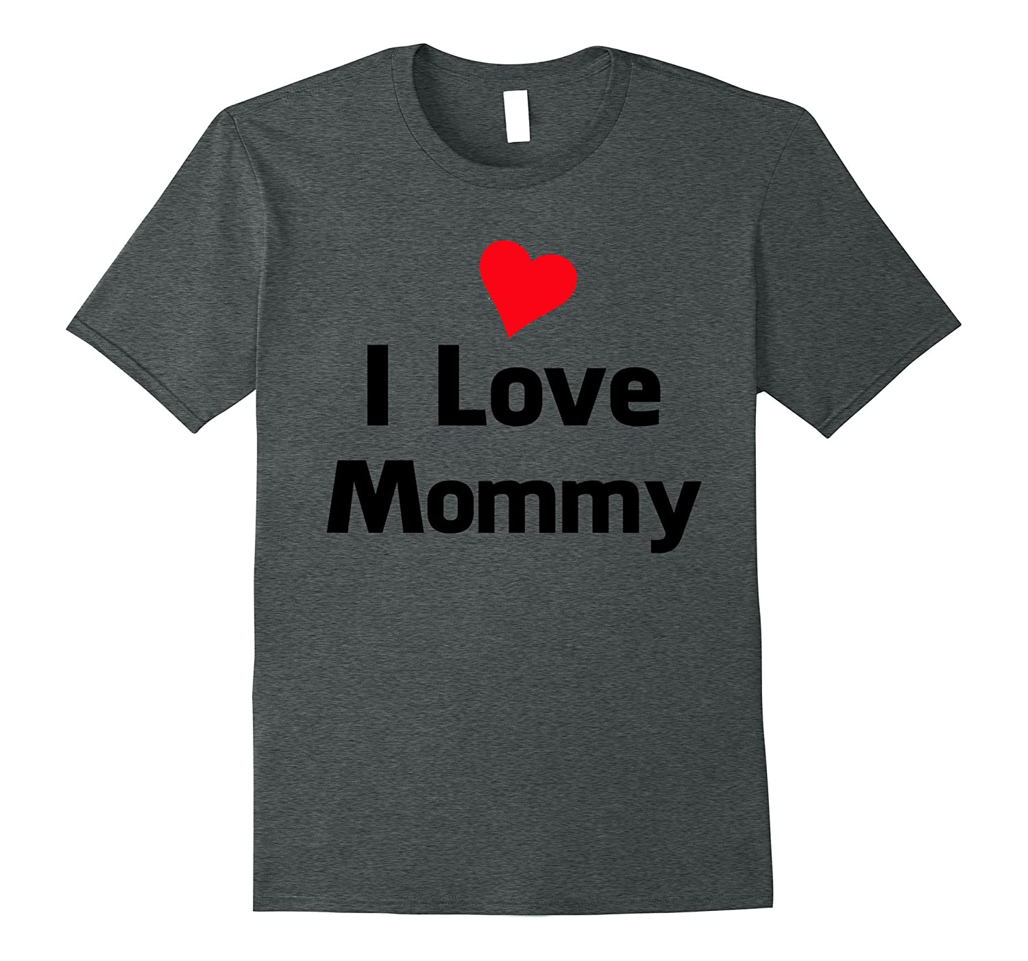 Adorable I LOVE MOMMY T-shirt cute gift idea for kids-Vaci