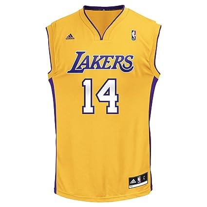 693c4a3641f Amazon.com   NBA Los Angeles Lakers Men s Replica Jersey