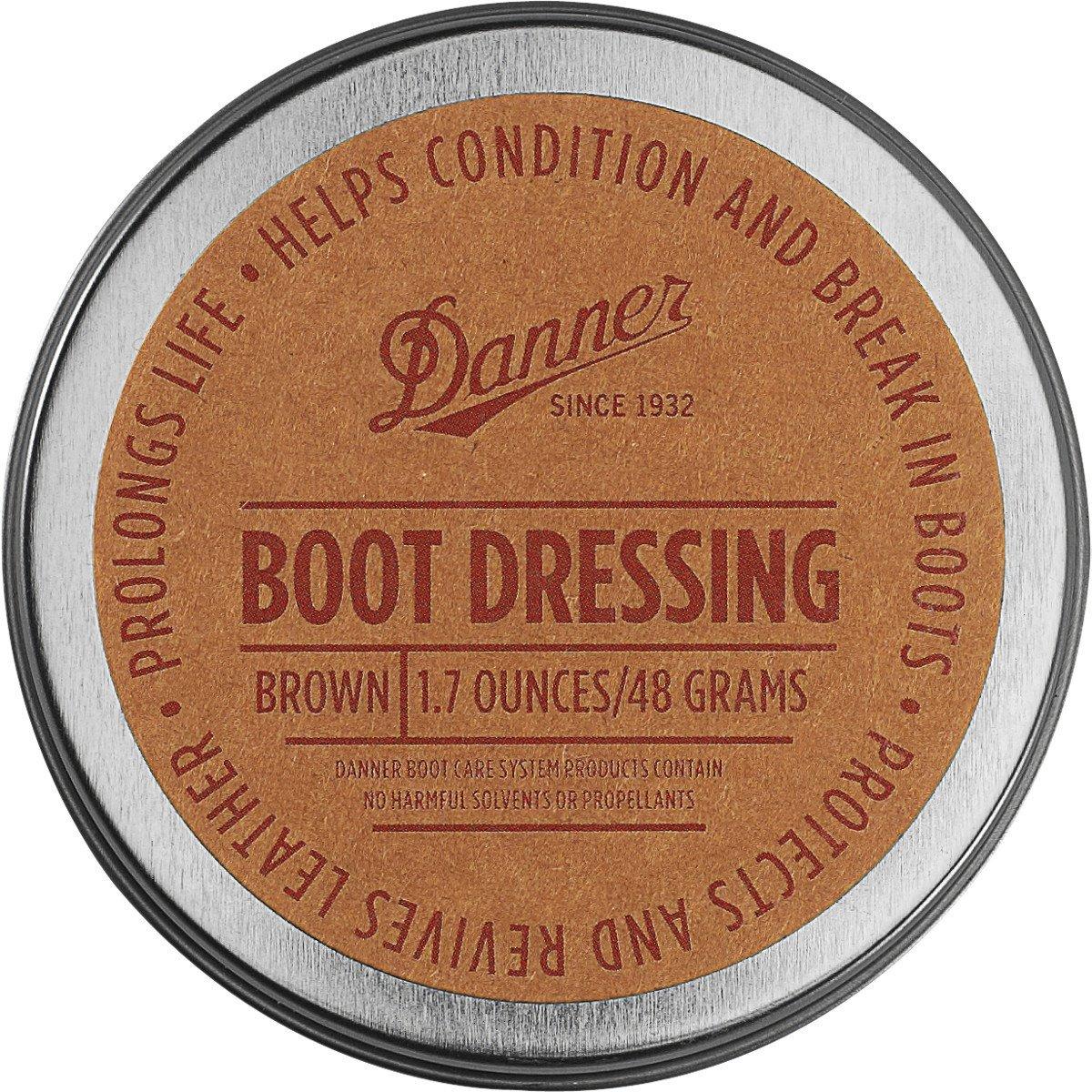 Danner Boot Dressing 1.7 Oz Shoe Care Product, Brown, Universal Regular US