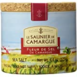 Le Saunier de Camargue Fleur de Sel (Sea Salt), 1.25-Grams (Pack of 3)