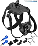 Nomadic Gear 犬用フェッチ犬ハーネスマウント Sports Camera Accessories Kit for GoPro 調節可能