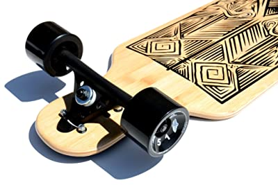 One Of The Best Long Boards : Atom Drop Through Longboard - 40 Inch