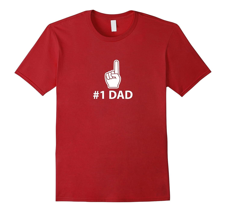 Mens #1 Dad Pointing shirt