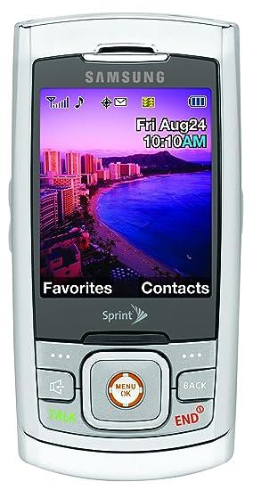 amazon com samsung m520 phone silver sprint cell phones rh amazon com Samsung Ace Sprint Samsung SPH M520