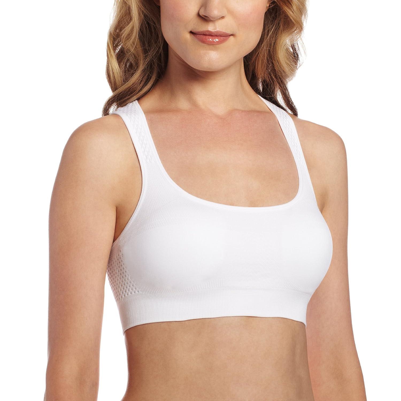 Jockey Womens Activewear Performance Push Up Seamless Sports Bra 7786