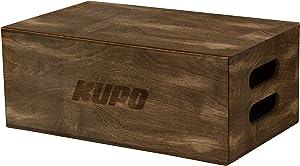 KUPO Brown Stained Apple Box - Full - 20in x 12in x 8in (KG057611)