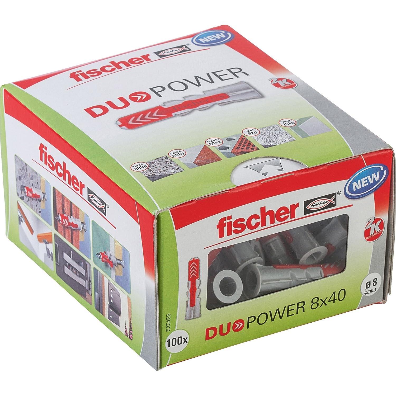 Fischer duo power universal dowels, 535455