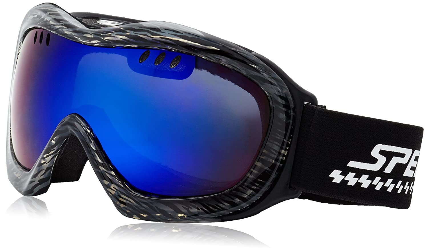 Speeron Winter Sport: Superleichte Hightech-Ski- & Snowboardbrille inkl. Hardcase (Skibrillen)