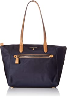 582594968fc242 Michael Kors Kelsey Nylon Large Zip Tote in Admiral: Handbags ...
