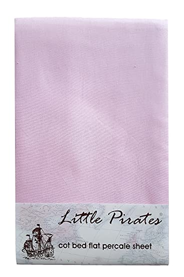 Pink Kinderbett//Bettlaken 100/% geb/ürsteter Baumwolle Perkal
