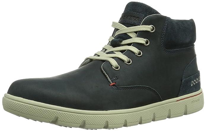 Dockers 352621-003300, Sneaker a collo alto Uomo, Blu (Blau (navy 300)), 43