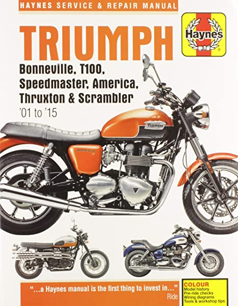amazon com manual triumph superbike 01 05 editors of haynes