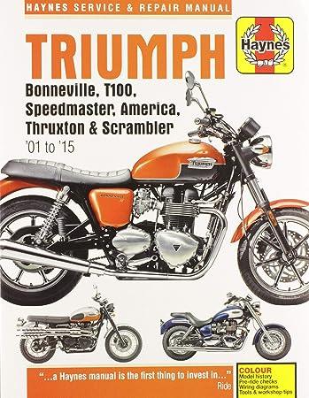 triumph america owners manual