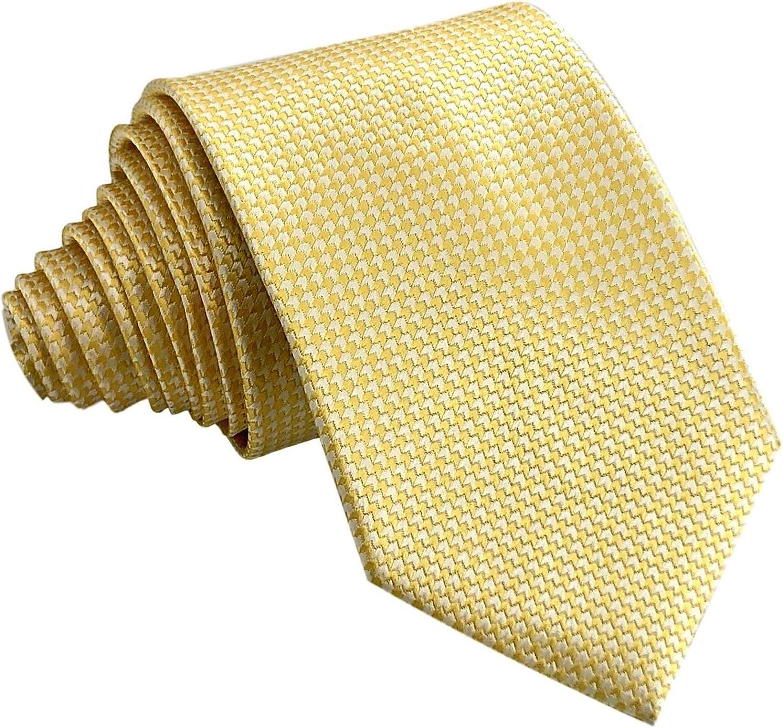 GASSANI - Corbata - Cuadrados - para hombre Amarillo Gelb ...