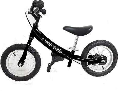 Deslizamiento Bicicletas niños Bicicleta Mini Glider con Patentado Lento Velocidad geometría, Unisex, Negro: Amazon.es: Deportes y aire libre
