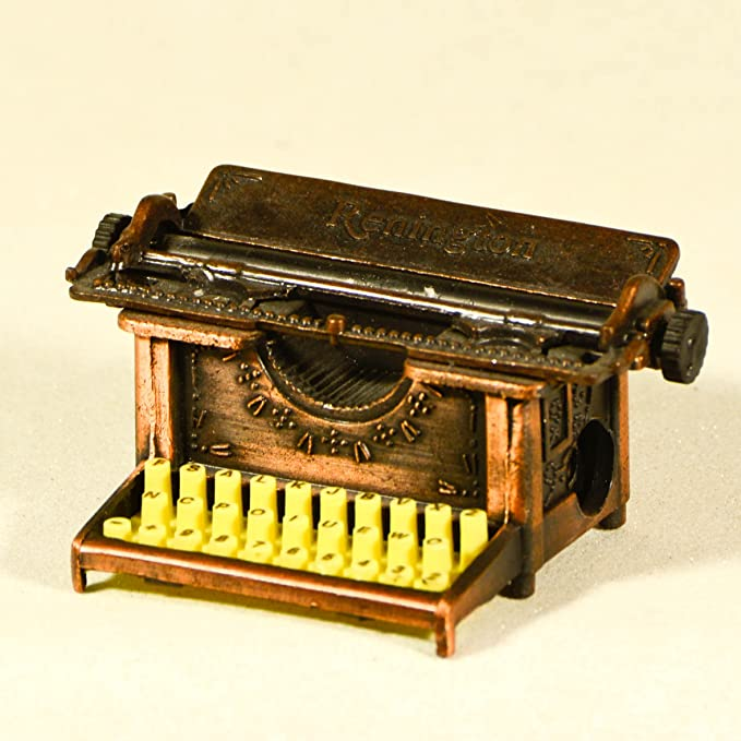 Sacapuntas de metal fundido envejecido Renington para máquina de escribir en miniatura: Amazon.es: Oficina y papelería
