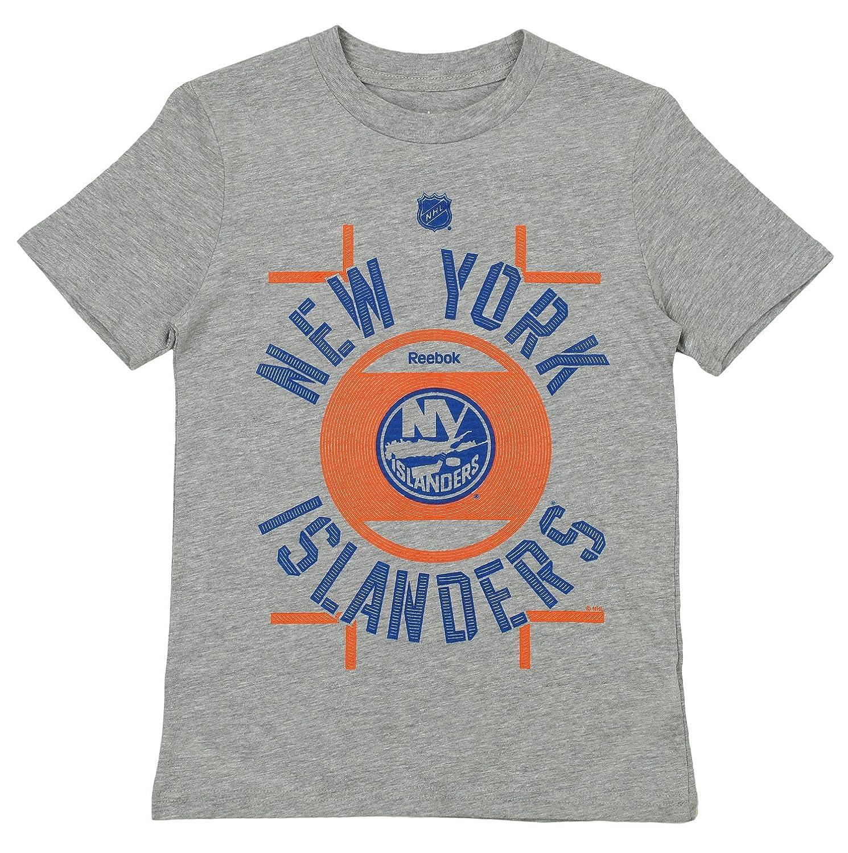 Reebok NHL Kids New York Islanders Team Logo Short Sleeve Tee