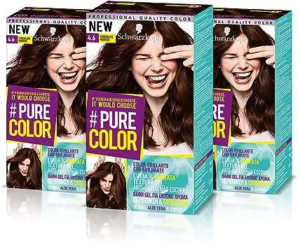 Schwarzkopf Pure Color Tinte Permanente 4.6 Chocolate Mousse