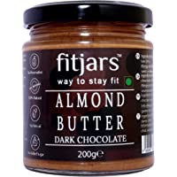 FITJARS Almond Butter with Dark Chocolate-7.05 Oz