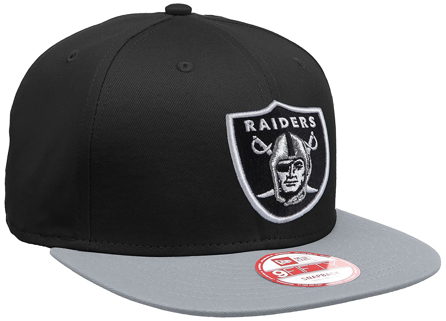 e9df8c0218c9b New Era NFL Oakland Raiders 9Fifty Snapback  Amazon.co.uk  Sports   Outdoors