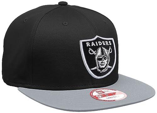 New Era Unisex Baseball Cap Mütze NFL 9 Fifty Block Oakland Raiders Snapback