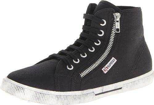 Buy Superga Zippered High-Top Sneaker