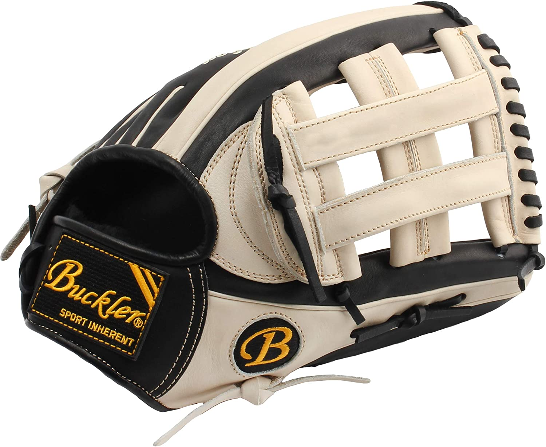12.75 Outfield RHT /& LHT Premium USA Steerhide Adult Baseball Gloves BUCKLER Phalanx Series