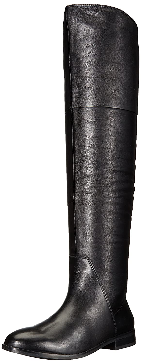 ALDO Women's Fudge Riding Boot B01L2YWEII 6 B(M) US|Black Leather