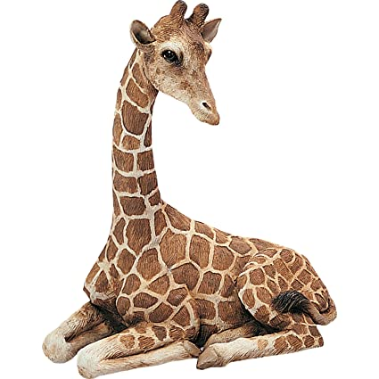Fantastic Amazon.com: Sandicast Original Size Giraffe Sculpture, Lying: Home  QM12
