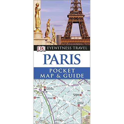 Paris Pocket Map and Guide (DK Eyewitness Travel Guide)