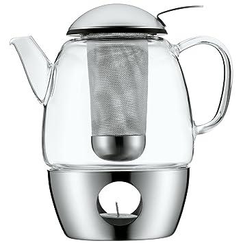 Wmf Smartea Teekanne Mit Sieb Und Stövchen Glas Edelstahl