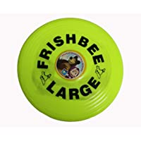 FashionandBeads Flying Disc (Frisbee) - Unbreakable, Durable and Light Weight for Sports (Color May Vary)