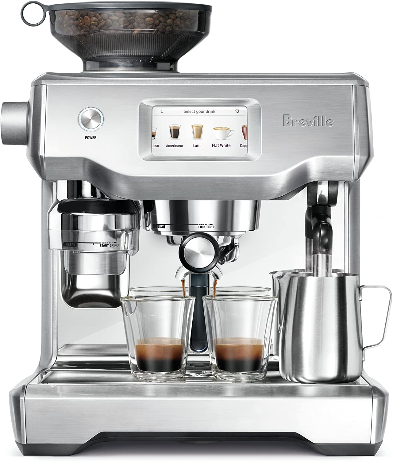 Breville Oracle Touch, acero inoxidable: Amazon.es: Hogar