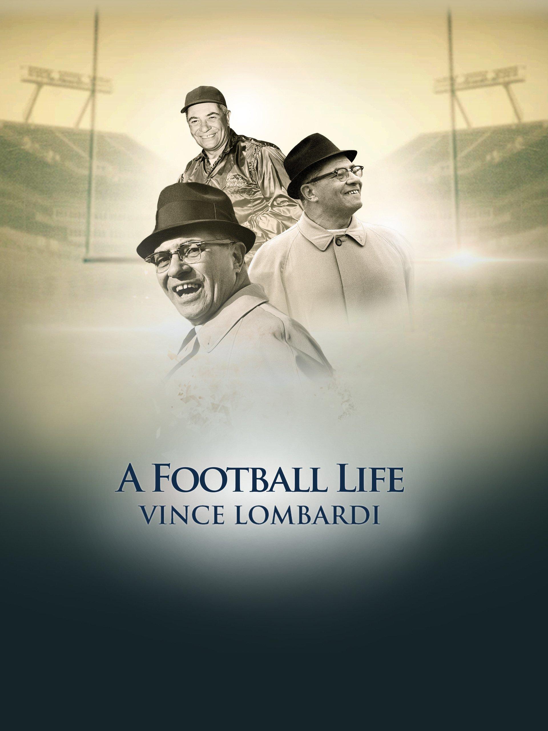 Amazon Com A Football Life Vince Lombardi Nfl Films
