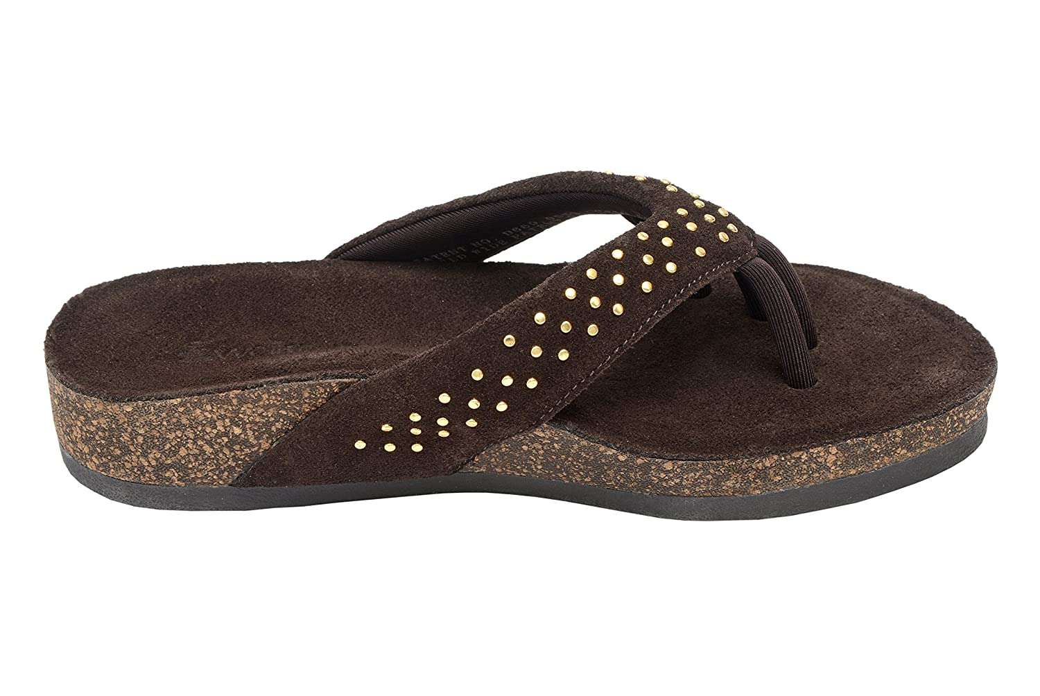 Wellrox Women's Santa Fee-Mila Casual Sandal B00LM8O05A 6 B(M) US|Dark Chocolate