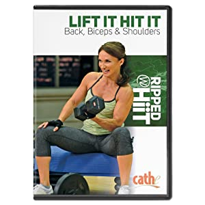 Cathe Friedrich: Ripped with HiiT - Lift It Hit It Back, Biceps & Shoulders [DVD]
