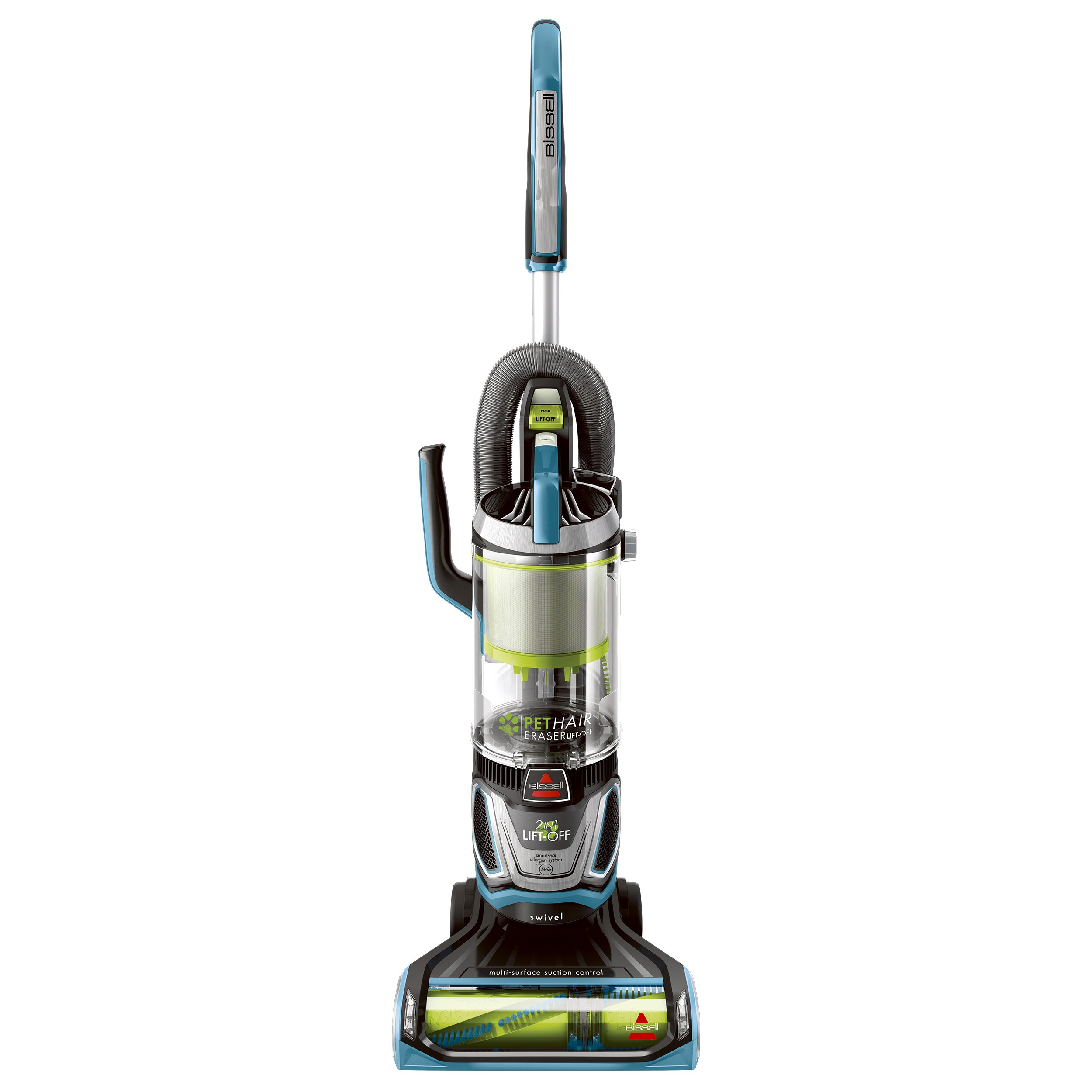 Bissell Pet Hair Eraser Lift Off Bagless Upright Vacuum