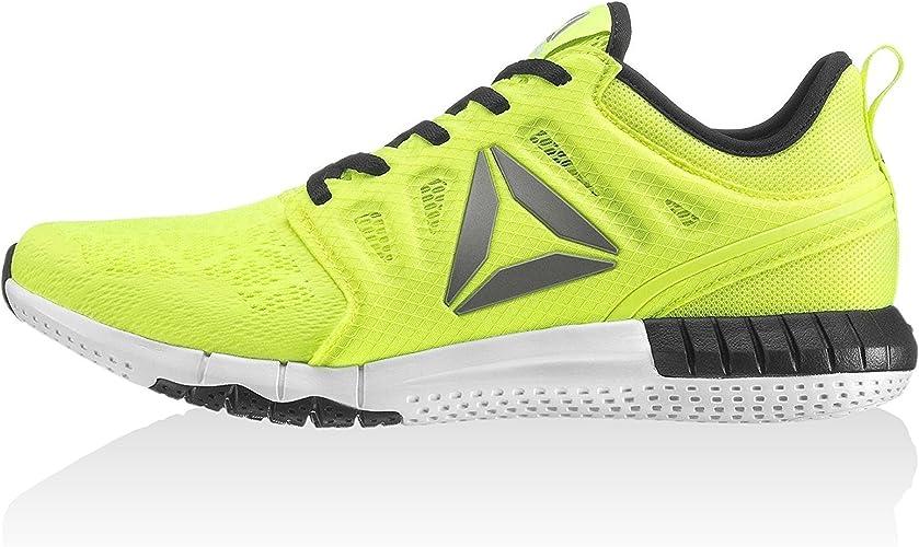 Reebok BS7233, Zapatillas de Trail Running para Hombre, Amarillo (Solar Yelow/Black/White/Pewter), 48.5 EU: Amazon.es: Zapatos y complementos