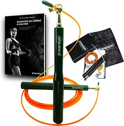 Corde à sauter Réglable Vitesse Skipping Crossfit Boxe FITNESS GYM AEROBIC Cardio
