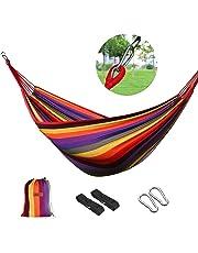 logei®Hamaca para Camping Excursión al Aire Libre Jardín