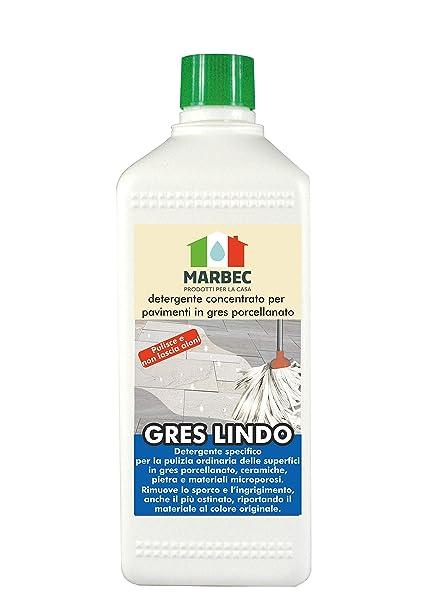 Marbec Gres Lindo 1lt Detergente Concentrato Specifico Per La
