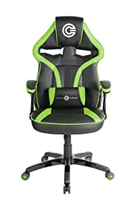 Circle Gaming/Office Chair (CH55 Black/Green)