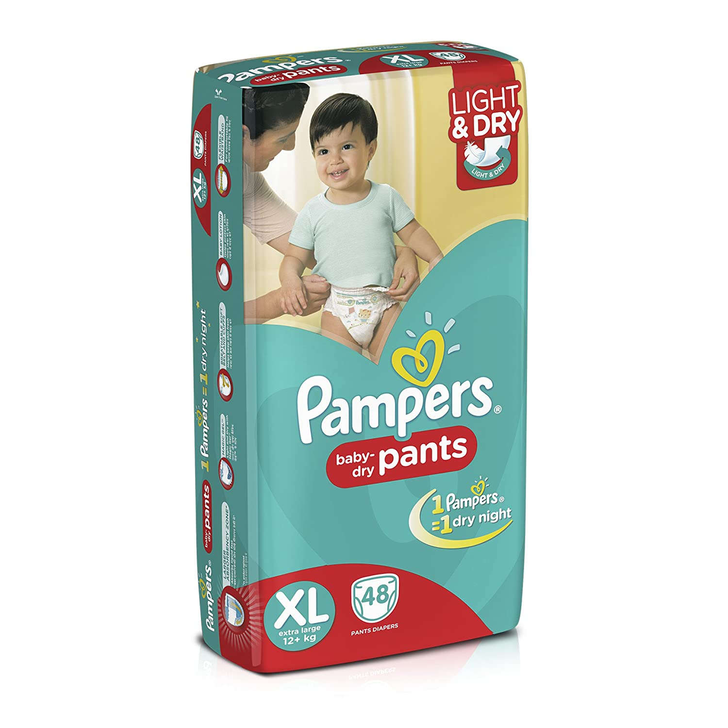 Pampers extra large size diaper pants 48 count amazon fandeluxe Image collections