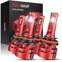 Torchbeam T2 9005 H11 LED Headlight Bulb Kit, 16000 Lumens HB3 High Beam H8/H9 Low Beam… photo