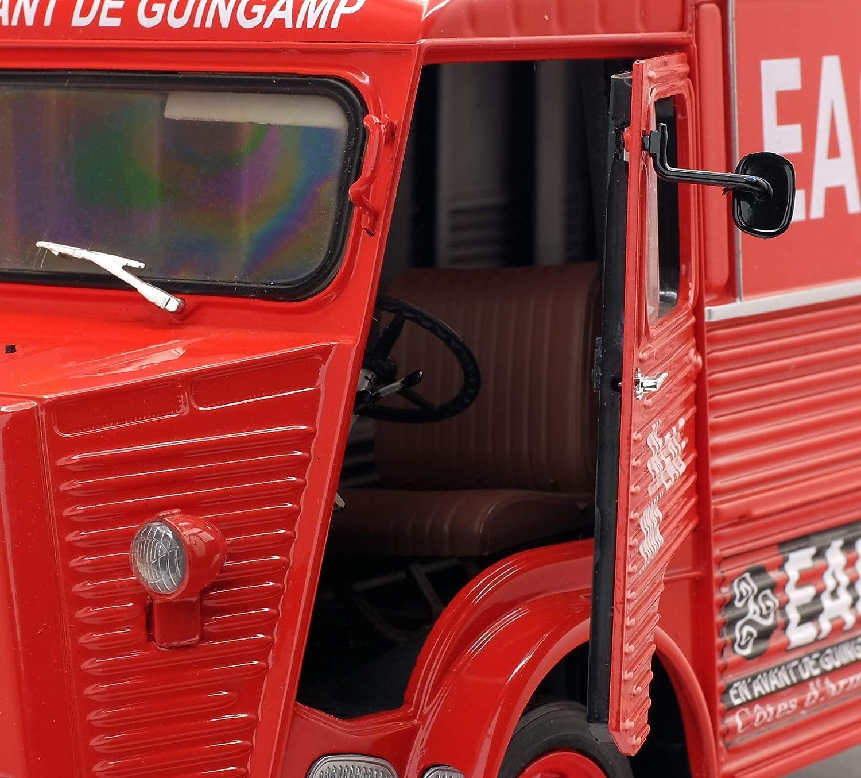 Solido Citroen Type Hy-en Avant Guingamp-1//18-S18500030 Collectible Miniature Car 1850030 Red