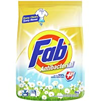 Fab Powder Detergent, Anti-Bacterial, 2.1kg